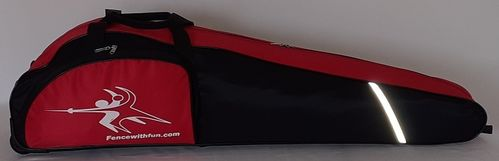 Rollbag Kids black - red